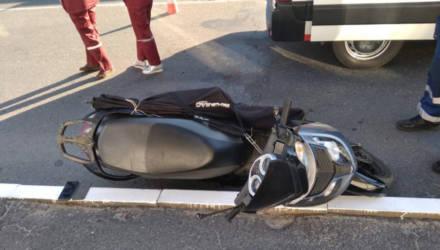Первая жертва нового мотосезона на Гомельщине: в Мозыре насмерть разбился скутерист без шлема