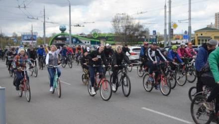 В Гомеле на выходных открыли велосезон