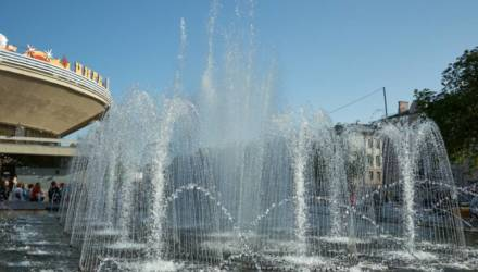 В Гомеле в четверг заработают фонтаны