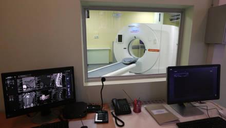 В Калинковичах открыли кабинет компьютерной томографии