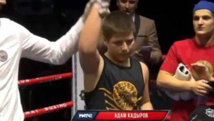 """""""Это позор просто"""": в Сети обсуждают странную победу 13-летнего сына Кадырова в боксёрском поединке"""