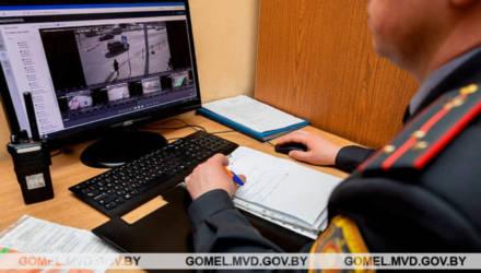 ГАИ Гомеля с помощью уличных камер видеонаблюдения выявила уже 330 нарушителей