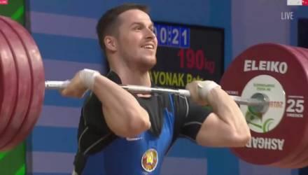 Тяжелоатлет из Речицы Пётр Асаёнок выиграл два серебра на чемпионате Европы