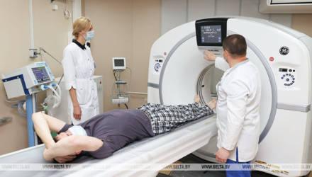 Кабинет компьютерной томографии открыли в гомельской больнице №1