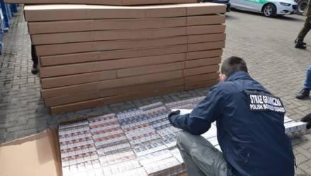 В Польше задержали самую крупную в истории партию контрабандных сигарет из Беларуси на $10 млн