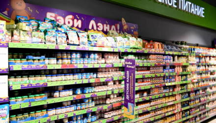 Дешевле до 30%! В «Евроопт» открылись островки «Бэби Лэнд» с детским питанием
