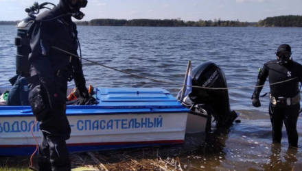 В Речице тело утонувшей женщины плыло по реке, а на островке в пойме Днепра был обнаружен пропавший мужчина
