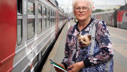 Пенсионерам с 1 мая предоставляется скидка на проезд в электричках
