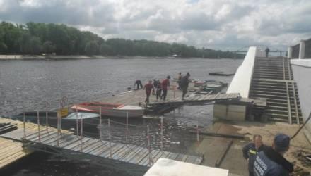 В Гомеле работники ОСВОДа спасли четырёх подростков в реке Сож