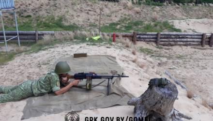 """Гомельская погрангруппа: на полигоне """"Борщёвка"""" будут проводиться боевые стрельбы"""