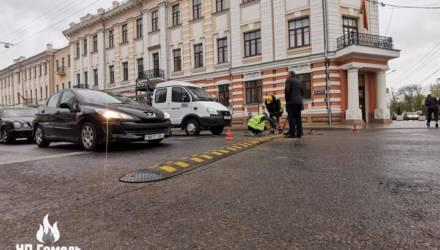 В Гомеле после ДТП с гибелью 6-летней девочки на перекрестках с Советской установили «лежачие полицейские»