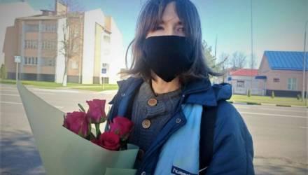 Освободилась гомельчанка – белорусская «рекордсменка» по «суткам» за протесты. Она отбыла в изоляторе 105 суток