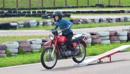В Гомеле прошли соревнования по мотоспорту среди подростков