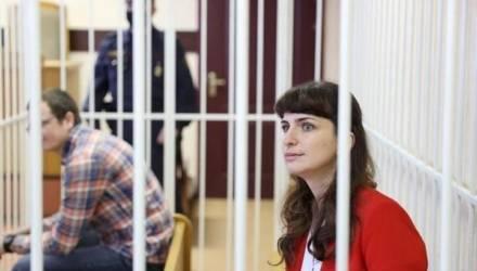 В Гомеле в среду должна выйти на свободу журналистка TUT.by Катерина Борисевич