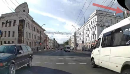 Гомельская ГАИ оформила хет-трик из маршруток-нарушителей. И все – на Советской