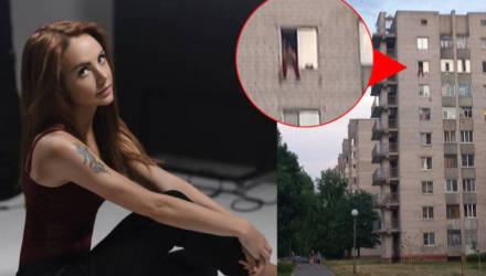 На Сельмаше мужчина свесил ноги из окна на 8-м этаже и слушал песни МакSим. Очевидцы вызвали спасателей