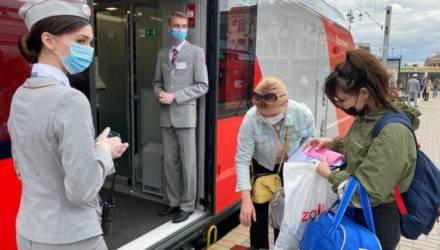 Запускаются поезда в Москву из Гомеля