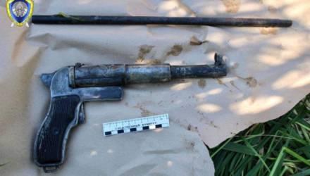 Белорус сделал самодельный пистолет, а тот сам выстрелил и убил его