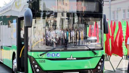 С кондиционером и USB-портами: в Гомеле на линию выходит первый электробус