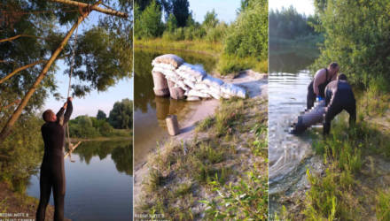 Смертельный прыжок в воду: в Гомеле и Буда-Кошелёвском районе утонули взрослые мужчины