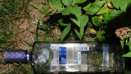Выброшенная из окна водочная бутылка попала в малолетнюю жительницу Жлобина