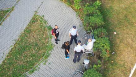 Милиция начала выявлять выпивающих гомельчан с помощью дронов