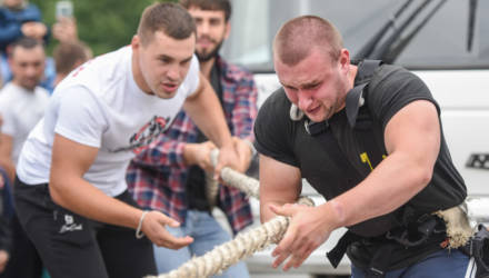 Фестиваль силового экстрима «Gomel Strong Battle 2021» прошёл в Гомеле