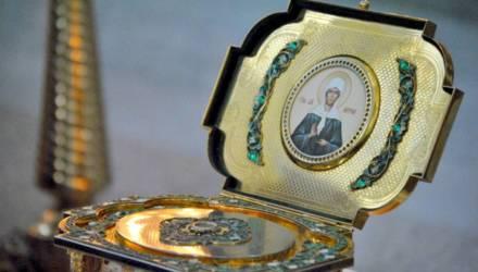В Гомель прибудут ковчег с мощами Матроны Московской и Крест-мощевик с частицей Ризы Господней