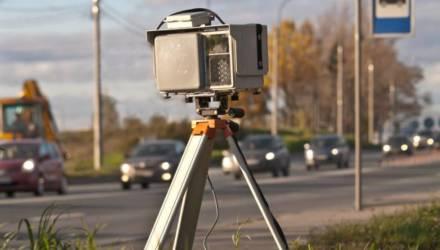 Где в Гомеле и области будут установлены датчики контроля скорости в ближайшие дни