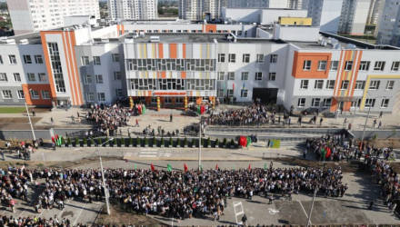 Новая школа в гомельском микрорайоне Хутор приняла первых учеников