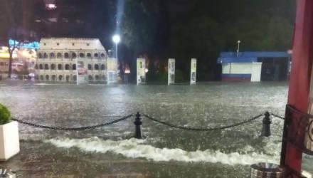 На Гомель надвигаются сильные дожди – Бегидромет объявил оранжевый уровень опасности