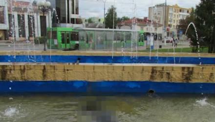В Жлобине школьница обнаружила в фонтане тело
