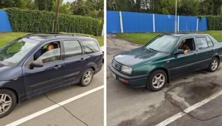 Массовая парковка на тротуаре в Гомеле: это всё студенты виноваты?