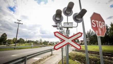 В Жлобинском районе на железнодорожном переезде пострадал старшеклассник-велосипедист в наушниках