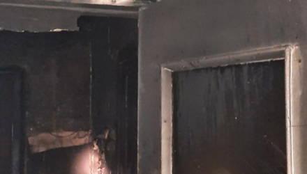 В Рогачёвском районе горела квартира, хозяина нашли висящим в петле
