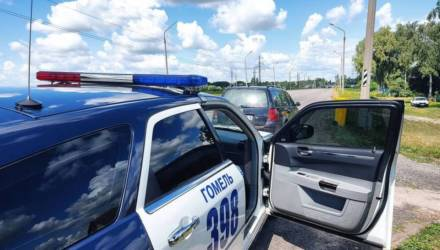 ГАИ массированно отрабатывает гомельские трассы: инспекторы уже пресекли 233 нарушения, 69 водителей превысили скорость