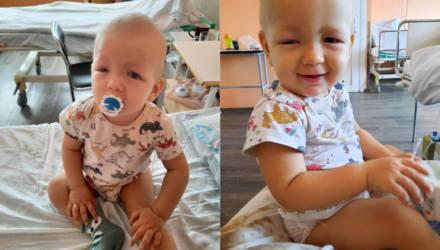 Маленькому гомельчанину срочно нужна операция: помогите спасти глазки ребёнка и его жизнь