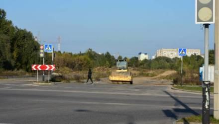 В Гомеле возобновилось строительство автодороги между Любенским микрорайоном и Шведской Горкой